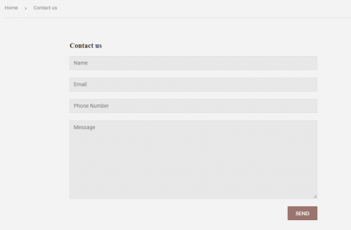 Just look at this pretty contact form!